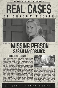 Real Cases of Shadow People: The Sarah McCormick Story-hd