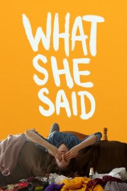 What She Said-hd